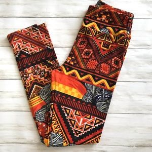 Lularoe mummy Halloween leggings size OS